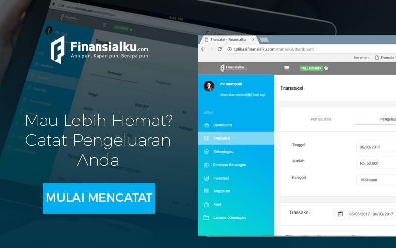 Iklan Aplikasi Finansialku - Rekeningku Transaksi