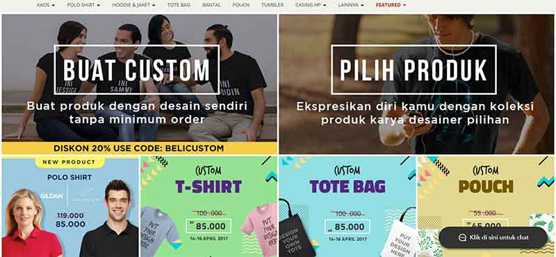 40 Peluang Usaha Bisnis Online Sebagai Penghasilan Tambahan untuk Keluarga - Jual Desain Kaos - Finansialku