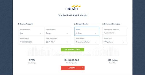 Kredit Rumah Kalkulator KPR, Contoh Produk dan Cepat Lunasi KPR 03 - Finansialku