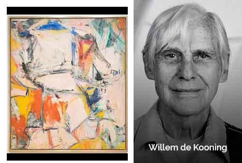 8 Lukisan Termahal di Dunia 03 - Interchange-Willem de Kooning - Finansialku