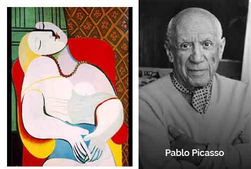 8 Lukisan Termahal di Dunia 05 - Le Reve karya Pablo Picasso - Finansialku