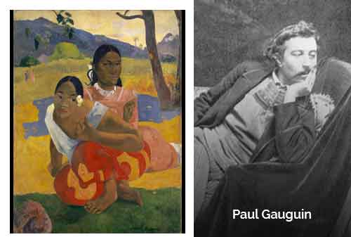 8 Lukisan Termahal di Dunia 06 - When Will You Marry karya Paul Gauguin - Finansialku