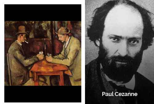 8 Lukisan Termahal di Dunia 07 - The Card Players karya Paul Cezanne - Finansialku