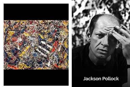 8 Lukisan Termahal di Dunia 08 - Number 17A karya Jackson Pollock - Finansialku