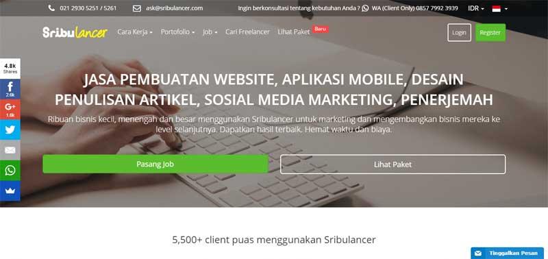 9 Situs Lowongan Kerja Freelance untuk Cari Uang Tambahan dengan Kerja Online dan Kerja Dari Rumah 03 - Finansialku