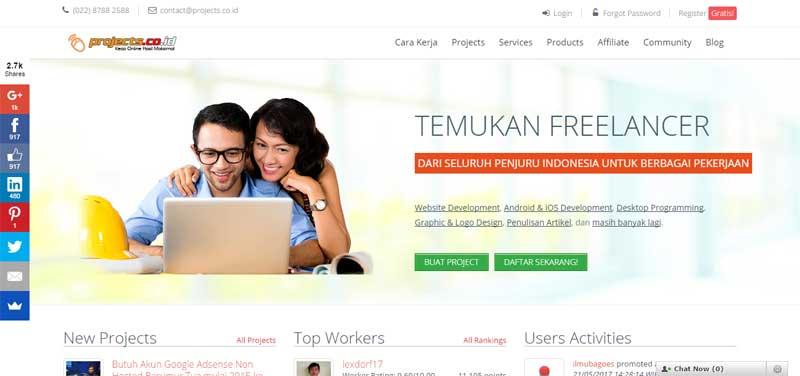 9 Situs Lowongan Kerja Freelance untuk Cari Uang Tambahan dengan Kerja Online dan Kerja Dari Rumah 04 - Finansialku