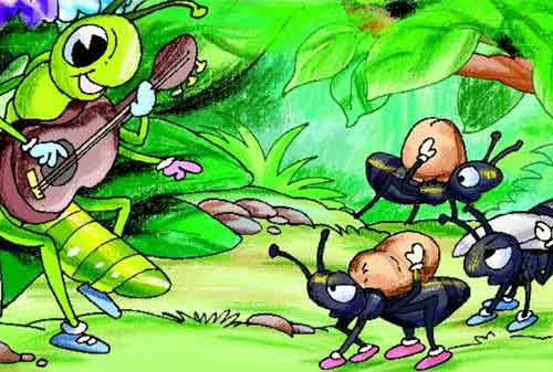 Cerita Dongeng Pendek Semut Dan Belalang Ajarkan Anda Perencanaan