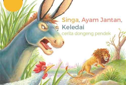 Cerita Dongeng Singa, Ayam Jantan dan Keledai serta Pesan Moral untuk Para Investor 1 - Finansialku