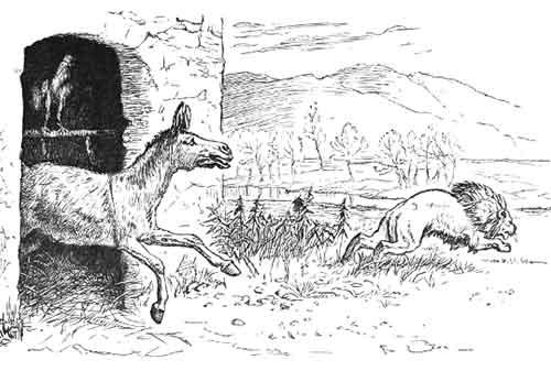 Cerita Dongeng Singa, Ayam Jantan dan Keledai serta Pesan Moral untuk Para Investor 2 - Finansialku