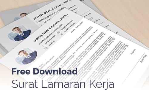 Download Template Lamaran Pekerjaan dan Contoh Email Lamaran Kerja 01 - Finansialku