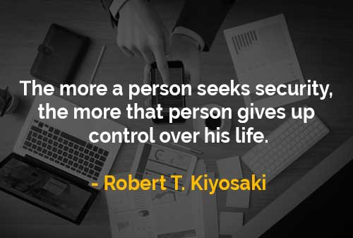 Mencari Keamanan Hidup dan Memberikan Kontrol Kepada Hidup - Finansialku