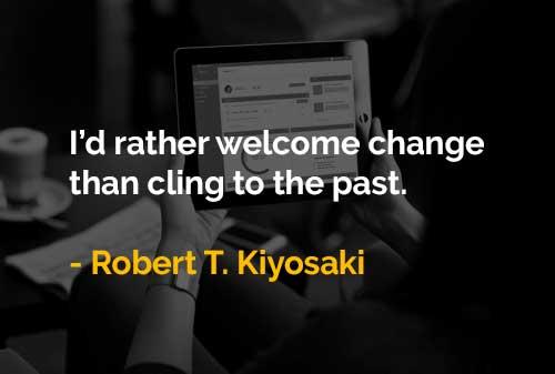 Menyukai Dalam Menyambut Perubahan Daripada Berpegang Pada Masa Lalu - Finansialku