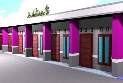 Desain Rumah Kontrakan 3 Petak Desain Interior Surabaya