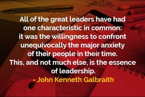 Semua Pemimpin Besar Memiliki Satu Karakteristik yang Sama - Finansialku