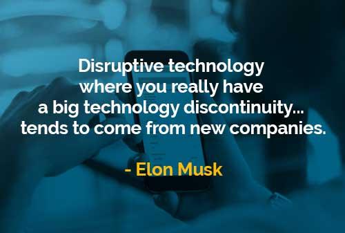 Teknologi yang Mengganggu Berasal Dari Perusahaan Baru - Finansialku