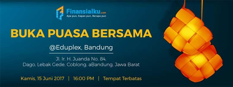 Event Buka Bareng Komunitas Finansialku Chapter Bandung - Facebook Cover