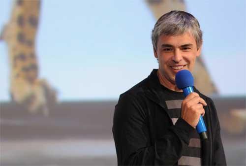 Kata-kata Bijak Larry Page dan Cerita Kesuksesan Google 06 - Finansialku