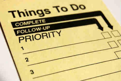 Skala Prioritas Salah Satu Kunci Menuju Sukses - Finansialku 01