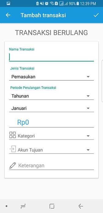 Transaksi Berulang Aplikasi Keuangan Finansialku 3