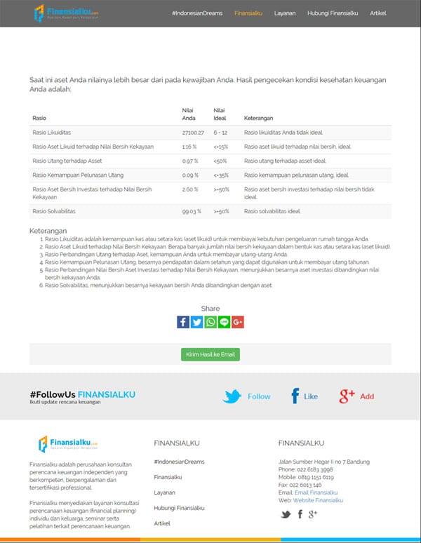 Yakin Anda Memiliki Keuangan yang Sehat Yuk Coba Financial Health Check Up dari Aplikasi Finansialku 06 - Finansialku