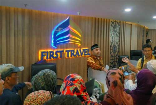 11 Entitas Dihentikan OJK, First Travel Termasuk Didalamnya Apa Karena Skema Ponzi 02 - Finansialku
