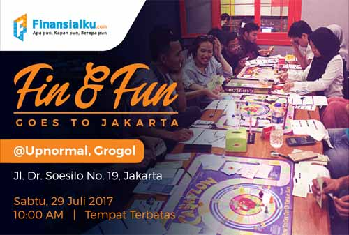 Fin and Fun Batch 3 Finansialku Jakarta Banner