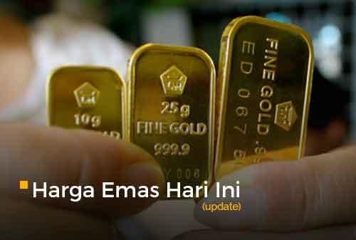 Harga Emas Hari Ini 15 November 2018 Rp 657000 Per Gram
