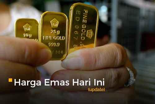 Harga Emas Hari Ini Update 3 - Finansialku