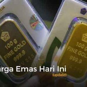 Harga Emas Hari Ini Update 8 - Finansialku