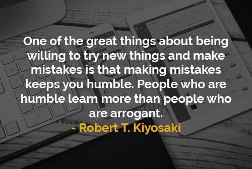 Orang Rendah Hati Belajar Lebih Banyak Daripada Orang