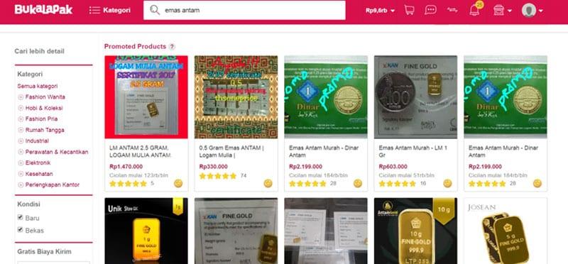 Terbaru! BukaLapak Rilis Buka Emas, Tawarkan Investasi Emas Online 14 - Finansialku