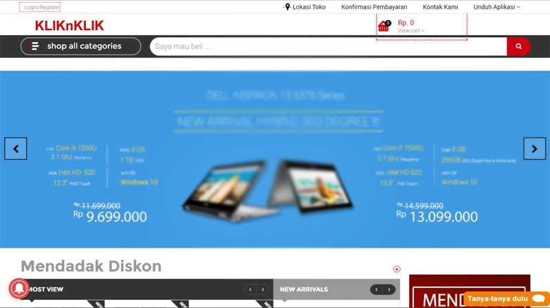 5 Toko Komputer Online, Tempat Belanja Komputer, Notebook dan Smartphone yang Hemat 04 - Finansialku