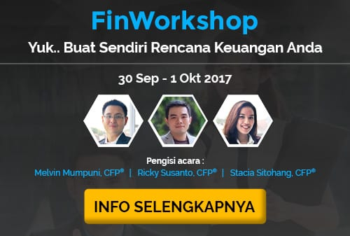 Workshop 2 Hari Yuk Buat Sendiri Rencana Keuangan Anda - Finansialku