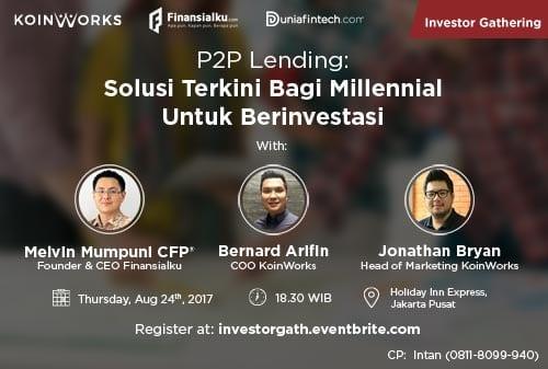 Event Investor Gathering Koinworks - Finansialku - 500 x 337