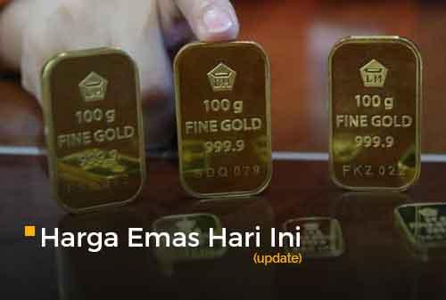 Harga Emas Hari Ini 28 Januari 2019 Rp666000 Per Gram