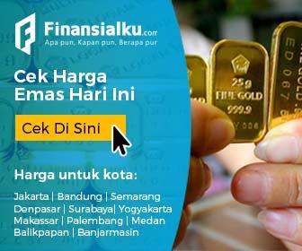 Iklan Banner Cek Harga Emas Hari Ini - Finansialku 336x280