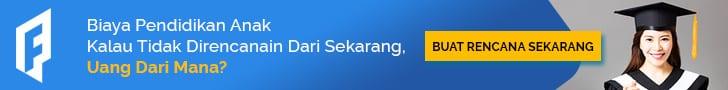 Iklan Banner Perencanaan Dana Kuliah Anak - 728x90