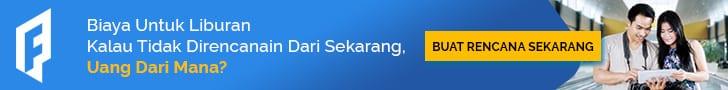 Iklan Banner Perencanaan Dana Liburan - 728x90