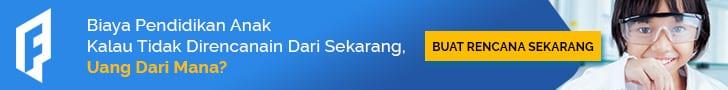 Iklan Banner Perencanaan Dana Pendidikan Anak - 728x90