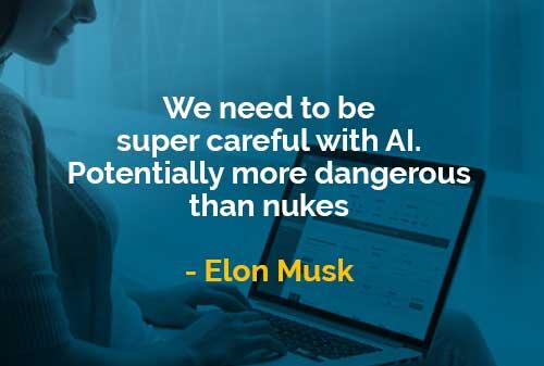 Kata-kata Bijak Elon Musk Berhati-hati dengan AI - Finansialku