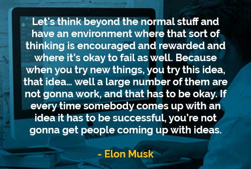 Kata-kata Bijak Elon Musk Berpikir Di Luar dari Hal-hal Normal - Finansialku