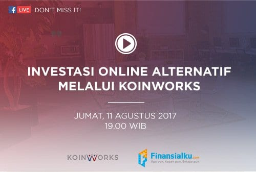 Live Event Investasi Online Alternatif Peer to Peer Lending Koinworks