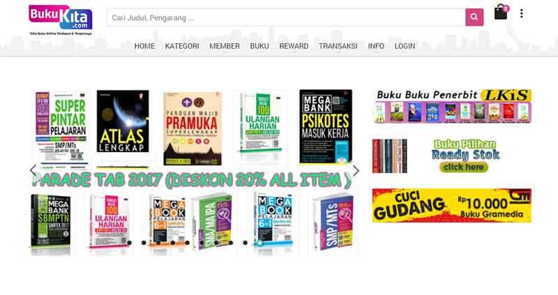Tips Berburu Buku di Toko Buku Online Terpercaya Indonesia 03 - Finansialku