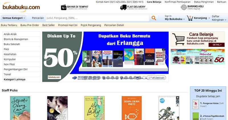 Tips Berburu Buku di Toko Buku Online Terpercaya Indonesia 04 - Finansialku
