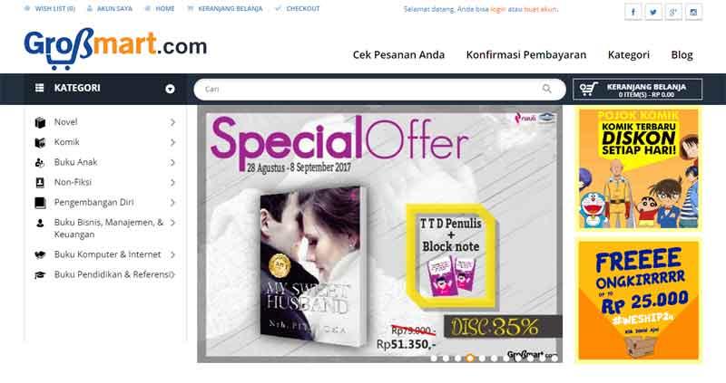 Tips Berburu Buku di Toko Buku Online Terpercaya Indonesia 05 - Finansialku