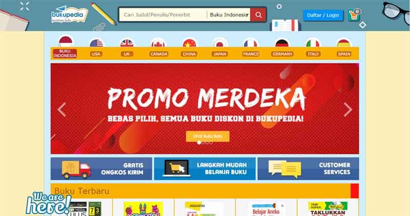 Tips Berburu Buku di Toko Buku Online Terpercaya Indonesia 07 - Finansialku