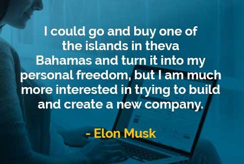 Kata-kata Bijak Elon Musk Membangun dan Membuat Perusahaan Baru - Finansialku