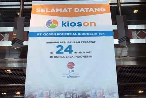 5 Oktober 2017, KIOSON Fintech Pertama Yang Melantai Di Bursa Efek Indonesia 01 - Finansialku