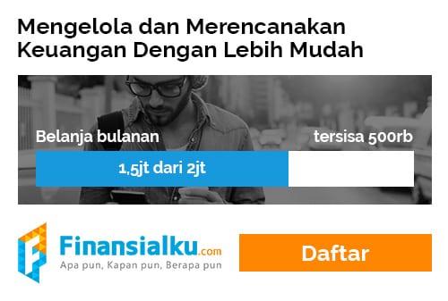 Banner Iklan Daftar Aplikasi Finansialku