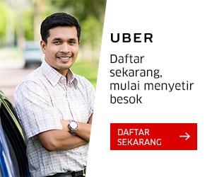 Yuk Daftar Uber Driver